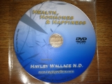 Health, Hormones and Happiness DVD