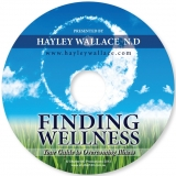 Finding Wellness Audio Book - CD (posted after ordering)